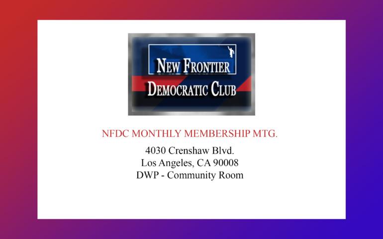 NFDC October General Meeting